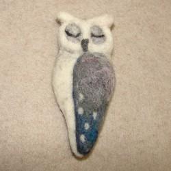 """Brooch """"Owl"""" 3"""