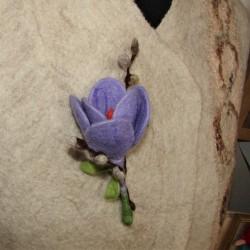 "Brooch ""Spring bouquet"""