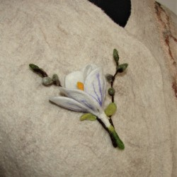 "Brooch ""Spring bouquet"" 1"