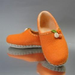 "41 Slippers ""Orange mood"""