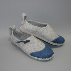 45 slippers with a...