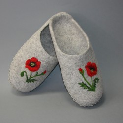 "44 slippers ""Poppy"""