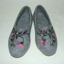 "36 slippers ""Sweet pea"""
