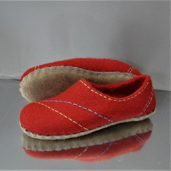 "40 42 felt slippers ""RHYTHM"""