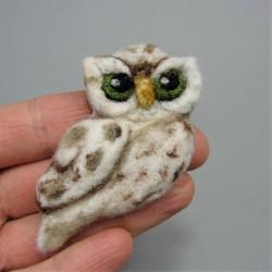 """Brooch """"Owl"""""""
